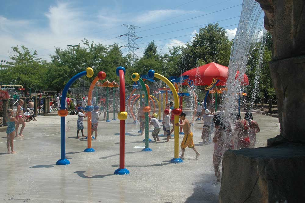 Stuckey Swimming Pool Construction - Skokie Splashpad